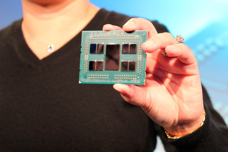 مشخصات پردازنده 32 هستهای AMD EPYC Rome فاش شد!