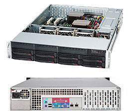 کیس سرور سوپرمیکرو CSE-825TQC-600LPB