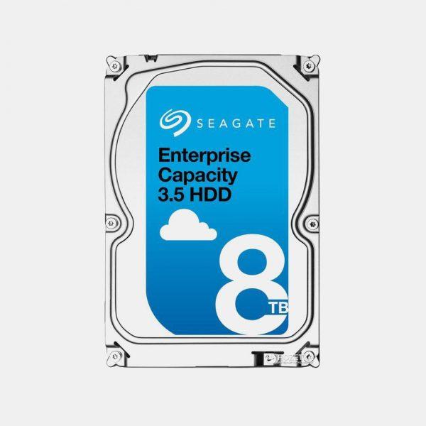 (Seagate Enterprise Capacity 3.5 HDD 8TB 7200RPM SAS 12Gb/s (ST8000NM0075