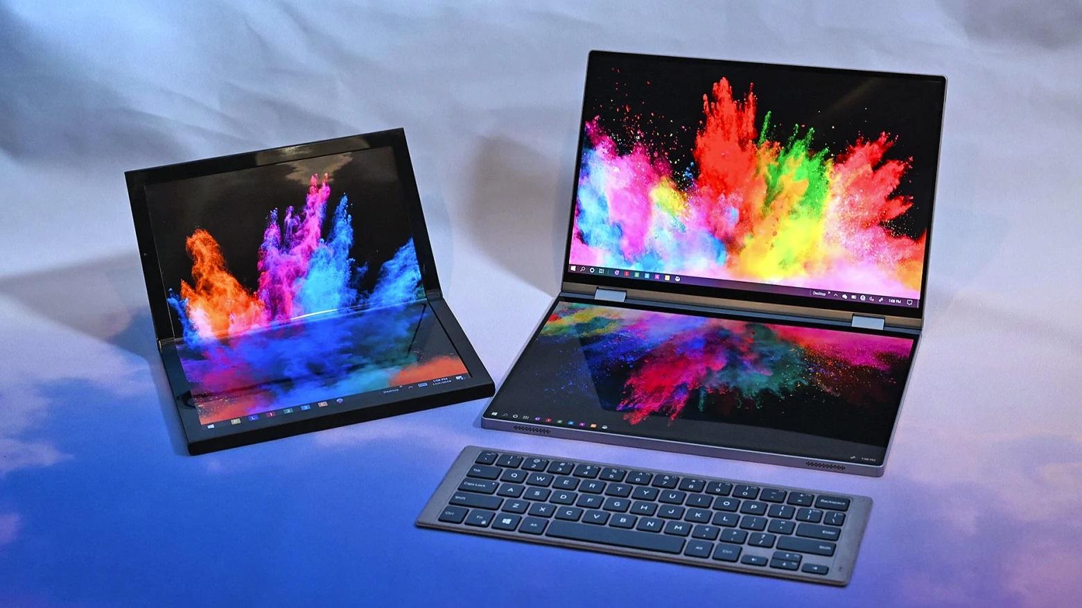 لپتاپهای تاشو و مجهز به دو نمایشگر شرکت Dell معرفی شدند